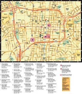 Charlotte Maps North Carolina US Maps of Charlotte