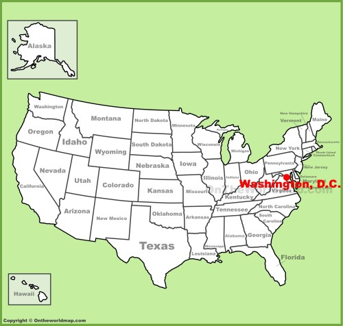 small resolution of full size washington d c location map