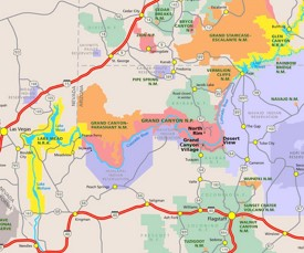 The grand canyon will blow you away. Grand Canyon Maps Usa Maps Of Grand Canyon National Park