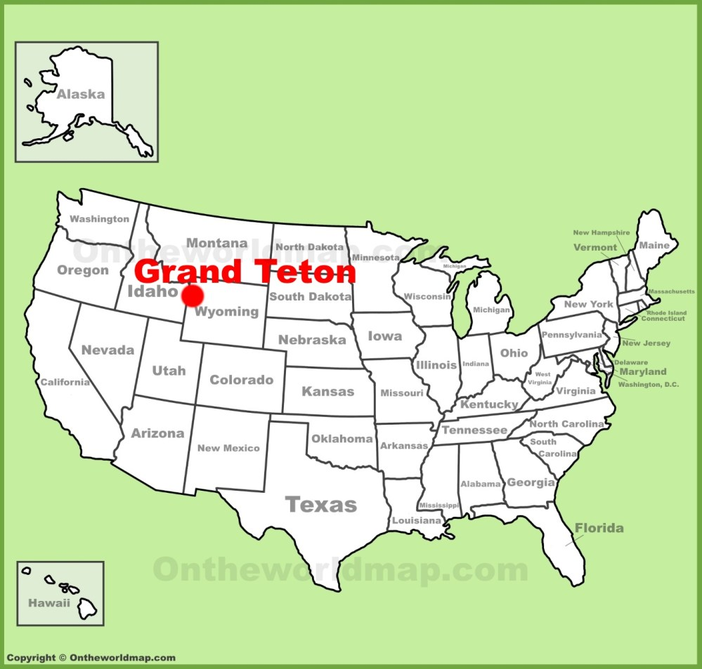 medium resolution of full size grand teton location map
