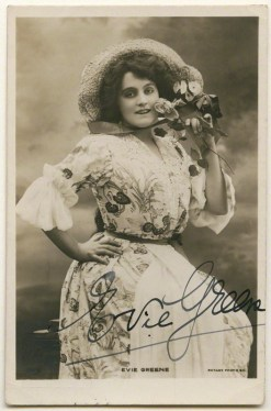 Actress Evie Edith Elizabeth Greene by Lallie Charles