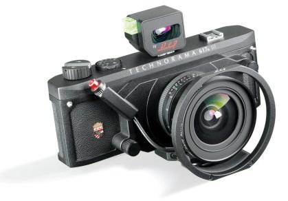 Linhoff Technorama panorama camera