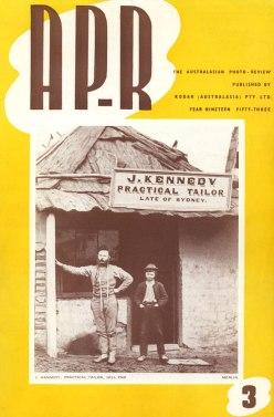 Keast Burke's special issue 3 of AP-R 1953, on Beaufoy Merlin