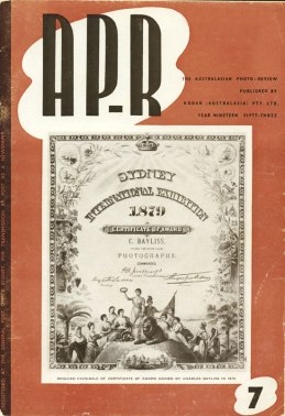 Keast Burke's special issue 7 of AP-R 1953, on Charles Bayliss