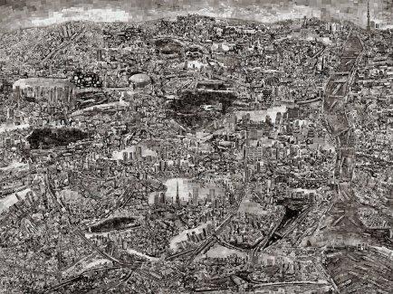 Sohei Nishino (Oct 2013–Mar 2014) 2420 x 1810mm
