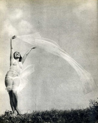 Karel Hájek (1932) Akt v plenéru (Nude in the open air)