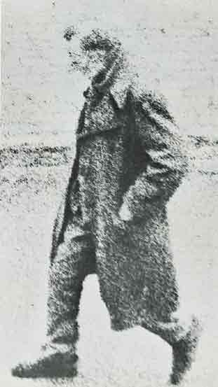 Ian Breakwell The Walking Man, detail