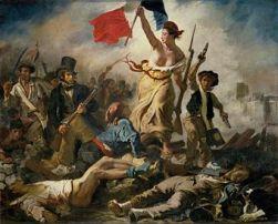 Eugène Delacroix (1830) Le 28 Juillet: La Liberté guidant le peuple.