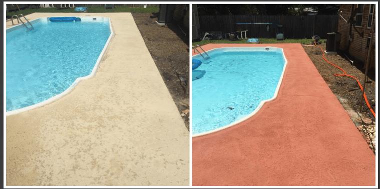 Pool Deck Restoration South Tampa FL
