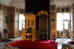 King's & Queen's throne at Rosenborg Castle