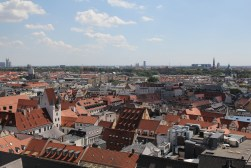 View from the top of Neues Rathaus