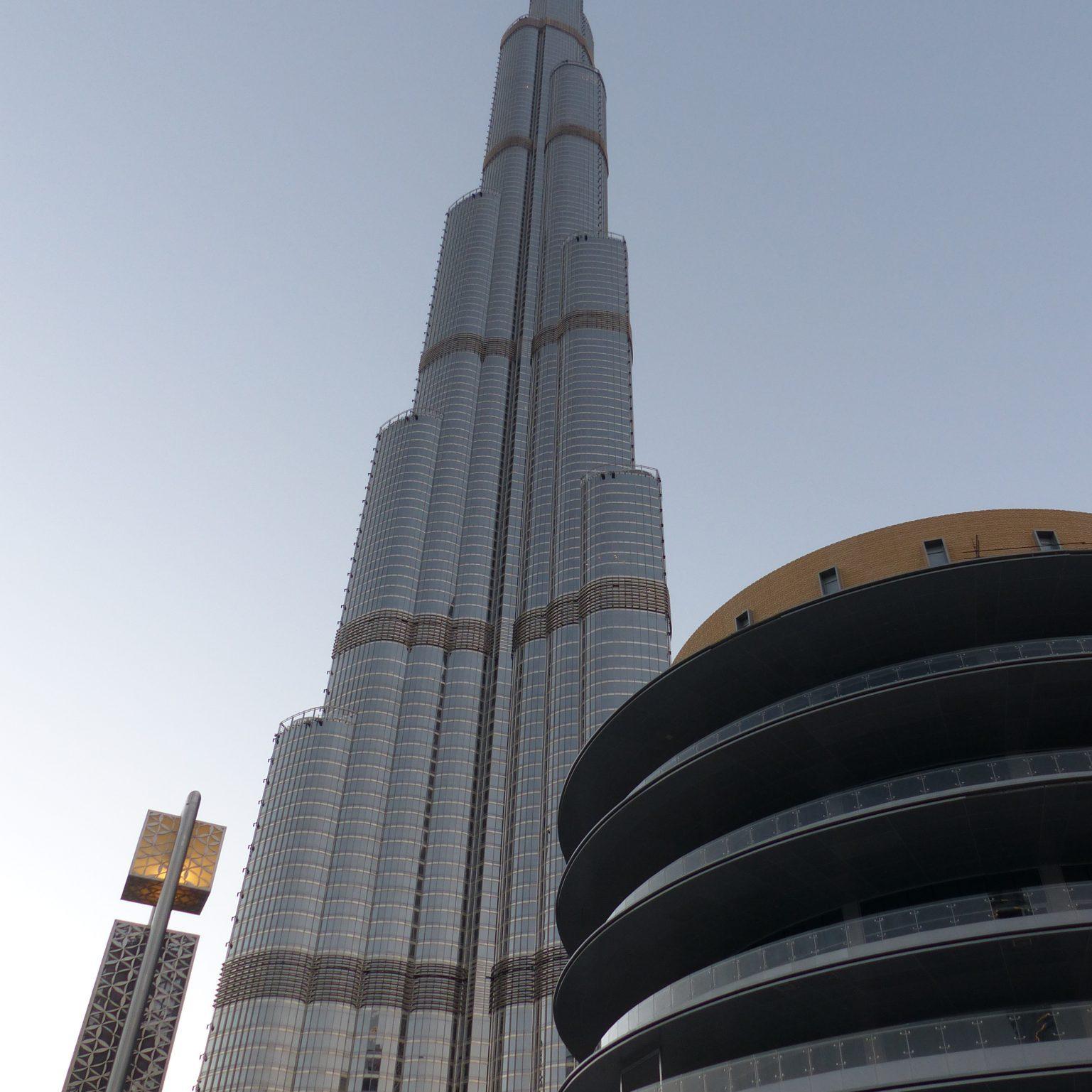 Burj Khalifa bei Tag Dubai