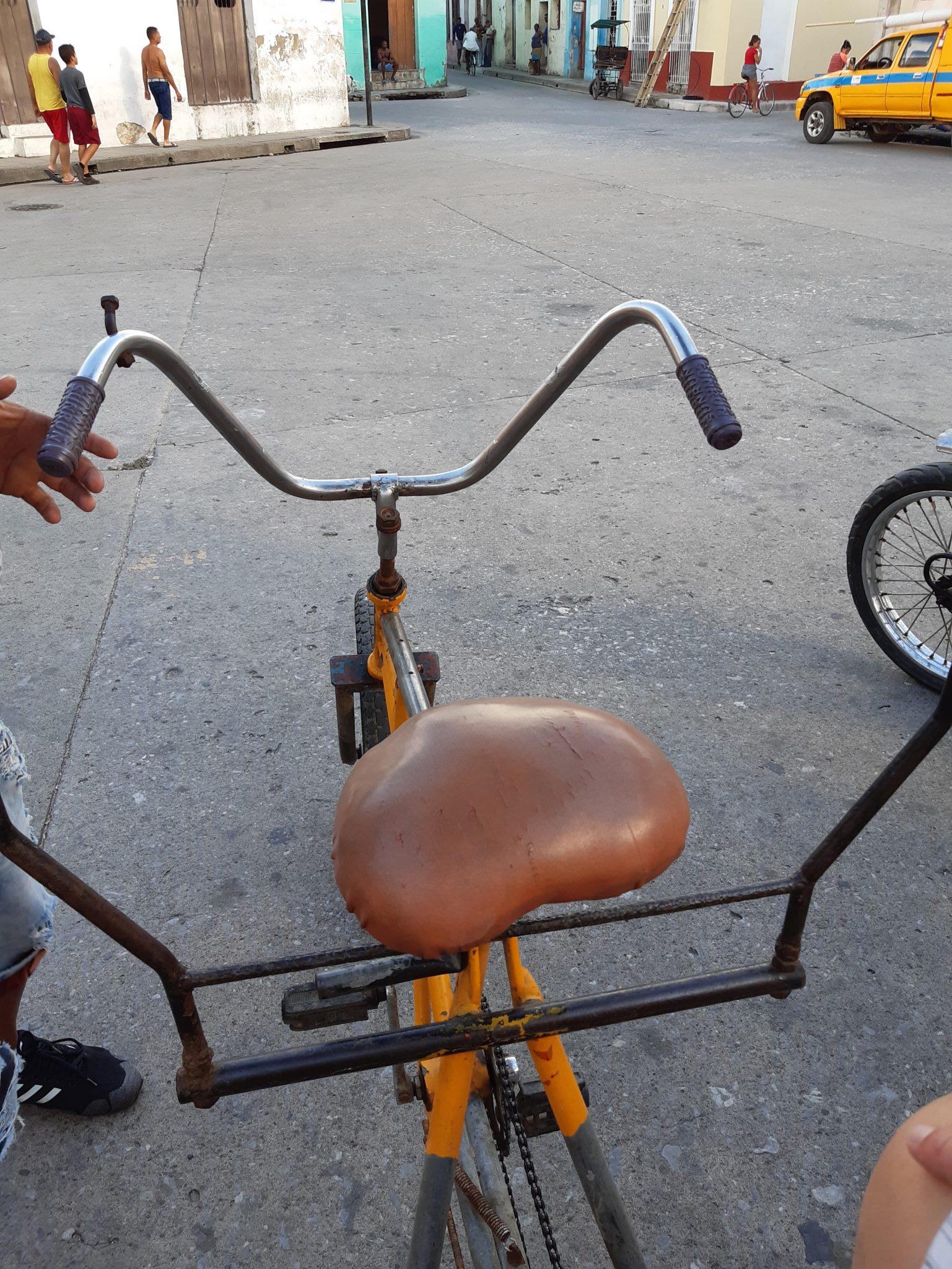 Fahhradtaxi auf Kuba