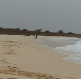 langer Sandstrand im Süden von Boha Vista