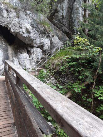 Wanderweg zum Wasserfall