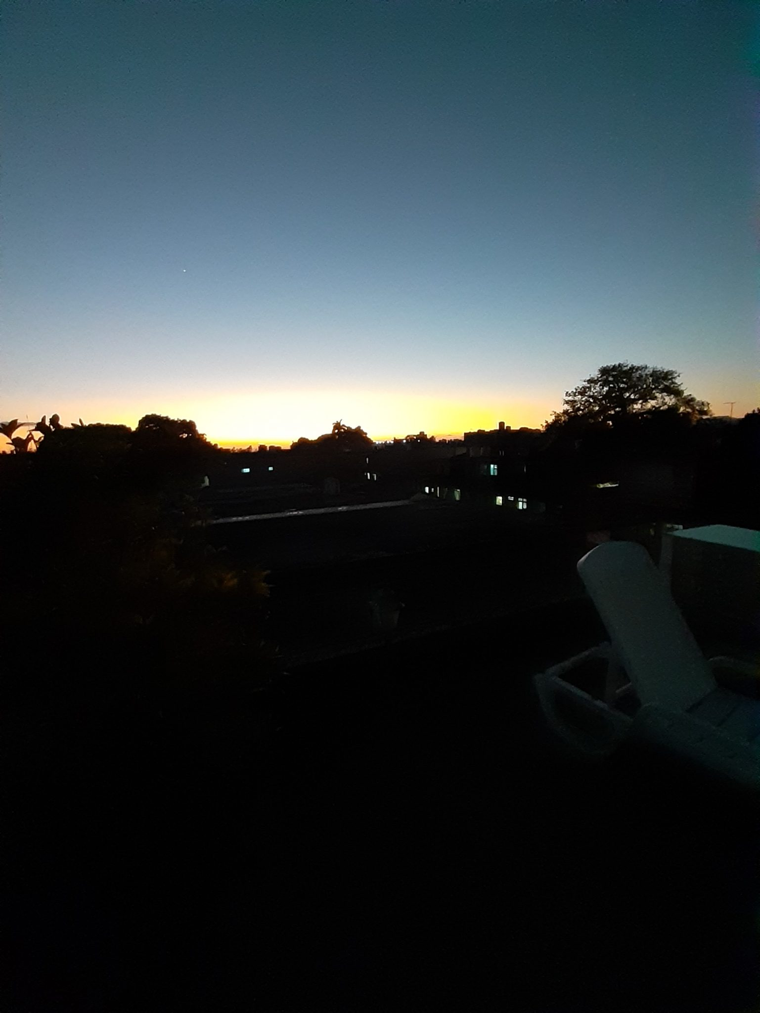 Trinidad über den Dächern Sonnenuntergang
