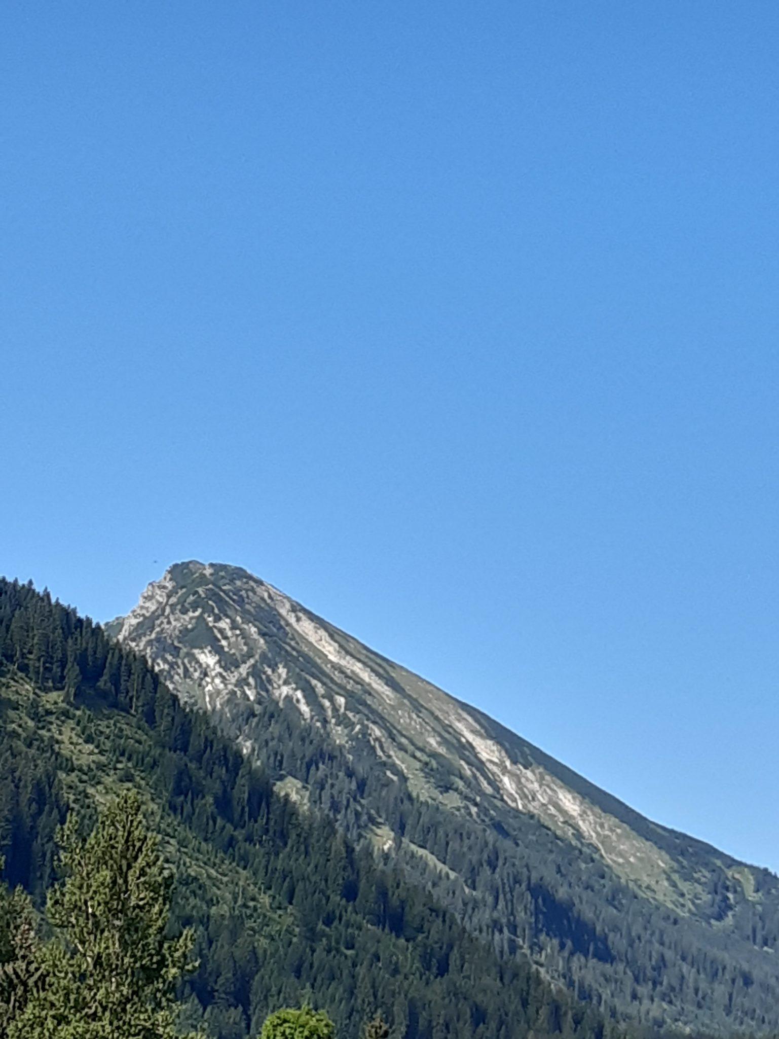 Berge im Tannheimer Tal Allgäu Österreich