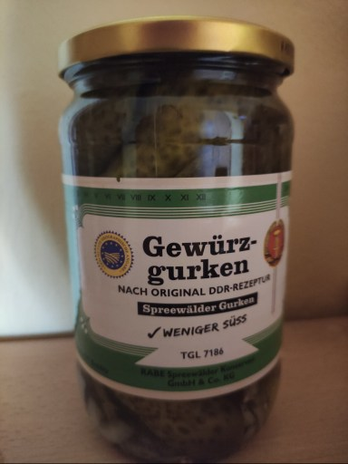 Kräuterhexe Gewürzgurken Spreewald