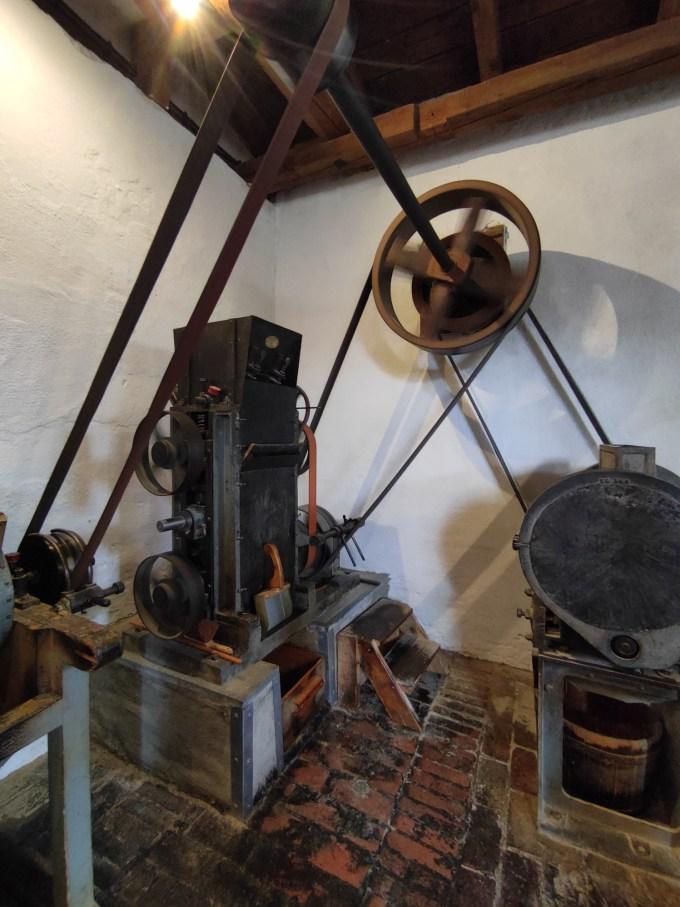 Maschine Windmühle Straupitz Spreewald