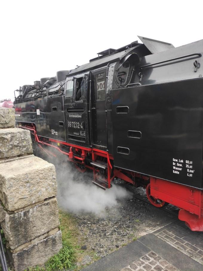 Brocken Harzer Schmalspurbahn Lokomotive