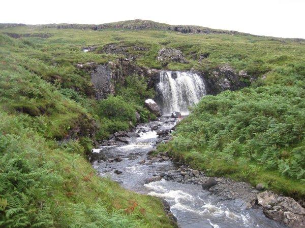 Wasserfall auf Mull