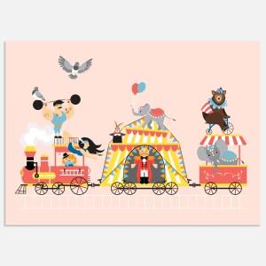 Poster kinderkamer, poster babykamer, leuk om als cadeau voor verjaardag kind te geven.