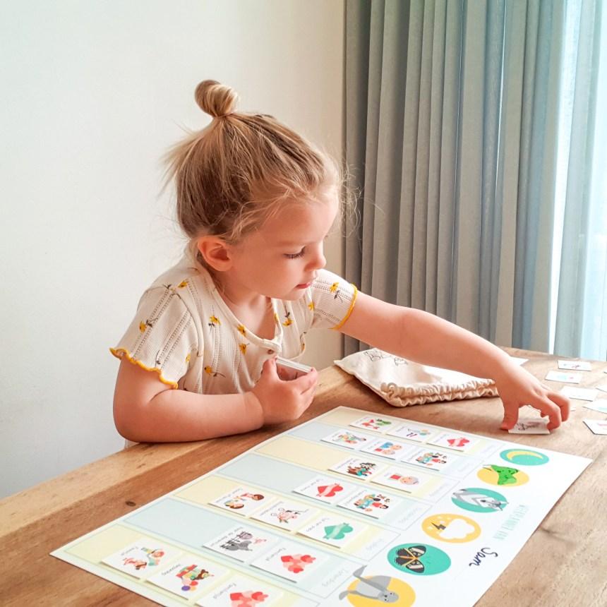 weekplanner dagplanner routine kind ontwerp door lindy