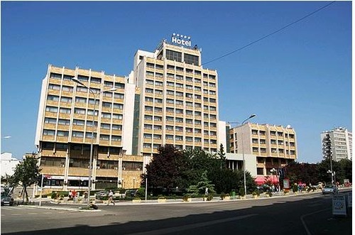 Grand Hotel was build by the only Albanian architect in Kosovo Bashkim Fehmiu.