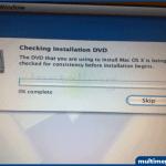 DVD denetleme işlemini Skip butonuna tıklayarak atlayabilirsiniz.