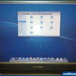 ... tadaaaa ... Bilgisyarımız Mac Os X Leopard 10.5.7 ile açıldı.