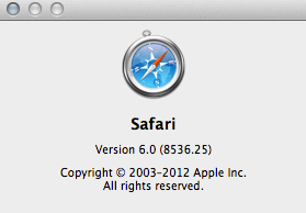 Safari 6