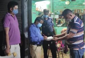 কাহালুর দূর্গাপুরে ভ্রাম্যমাণ আদালতে ৯ ব্যবসায়ীর জরিমানা