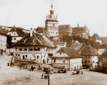 Old town - view of the place where Concordia now is (the cafe)