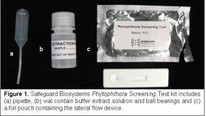 Safeguard Biosystems Phytophthora Screening Test kit
