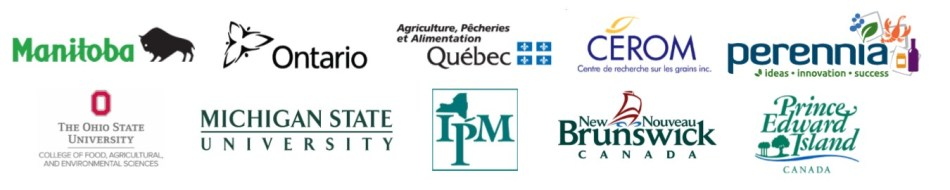 Great Lakes and Maritimes Pest Monitoring Network sponsors.
