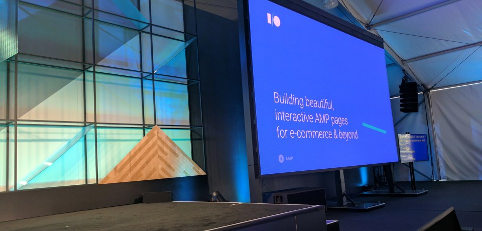 Building beautiful, interactive AMP pages for e-commerce & beyond — Google I/O 2017 Live Blogs