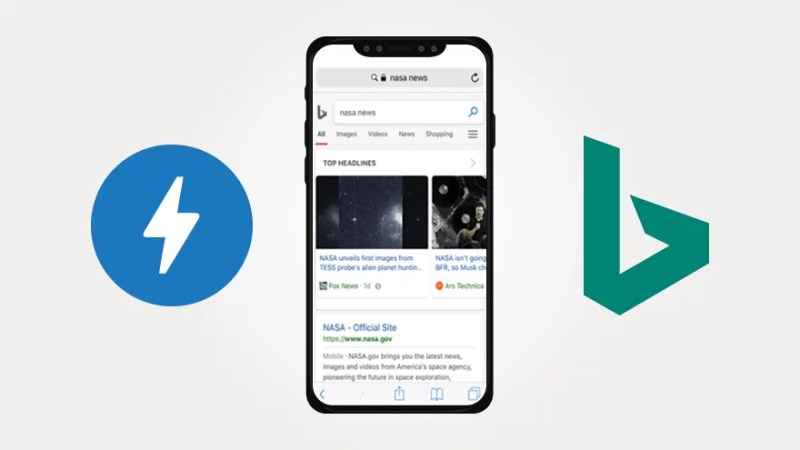 Bing Extends Support of AMP Project to Mobile Web with New Viewer and Carousel