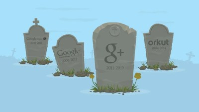 Here Lies Google+, 2011- 2019