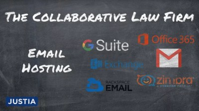 The Collaborative Law Firm: Part III - Email