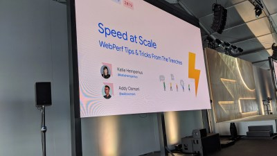 Speed at Scale: Web Performance Tips and Tricks from the Trenches -- #io19 Live Blogs