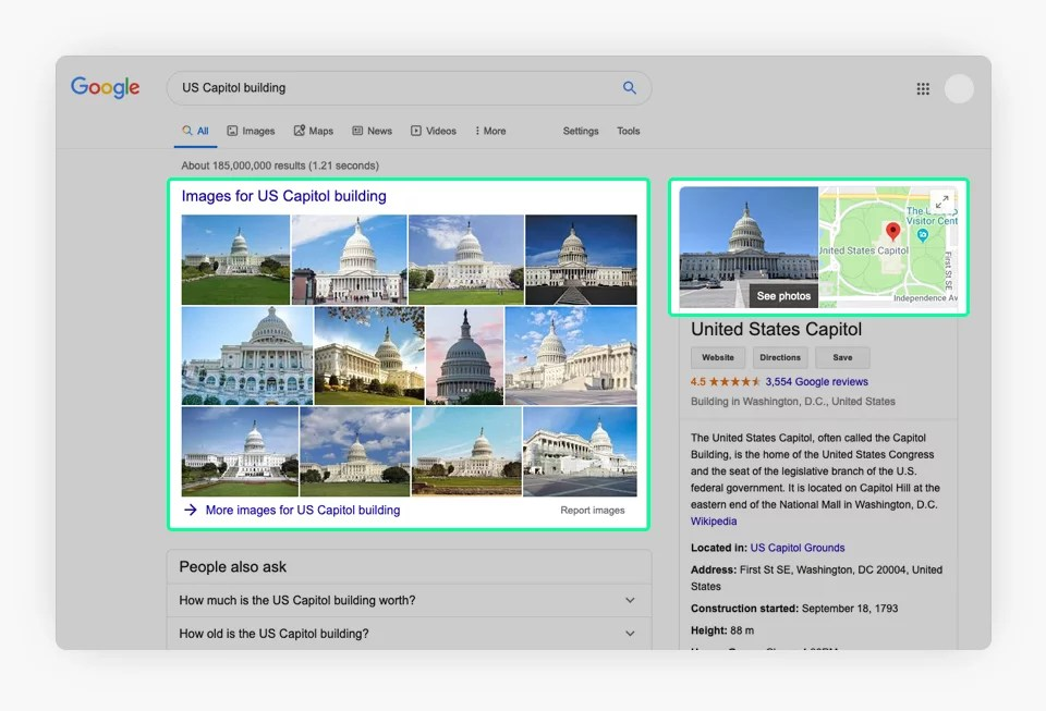 google search capitol house building