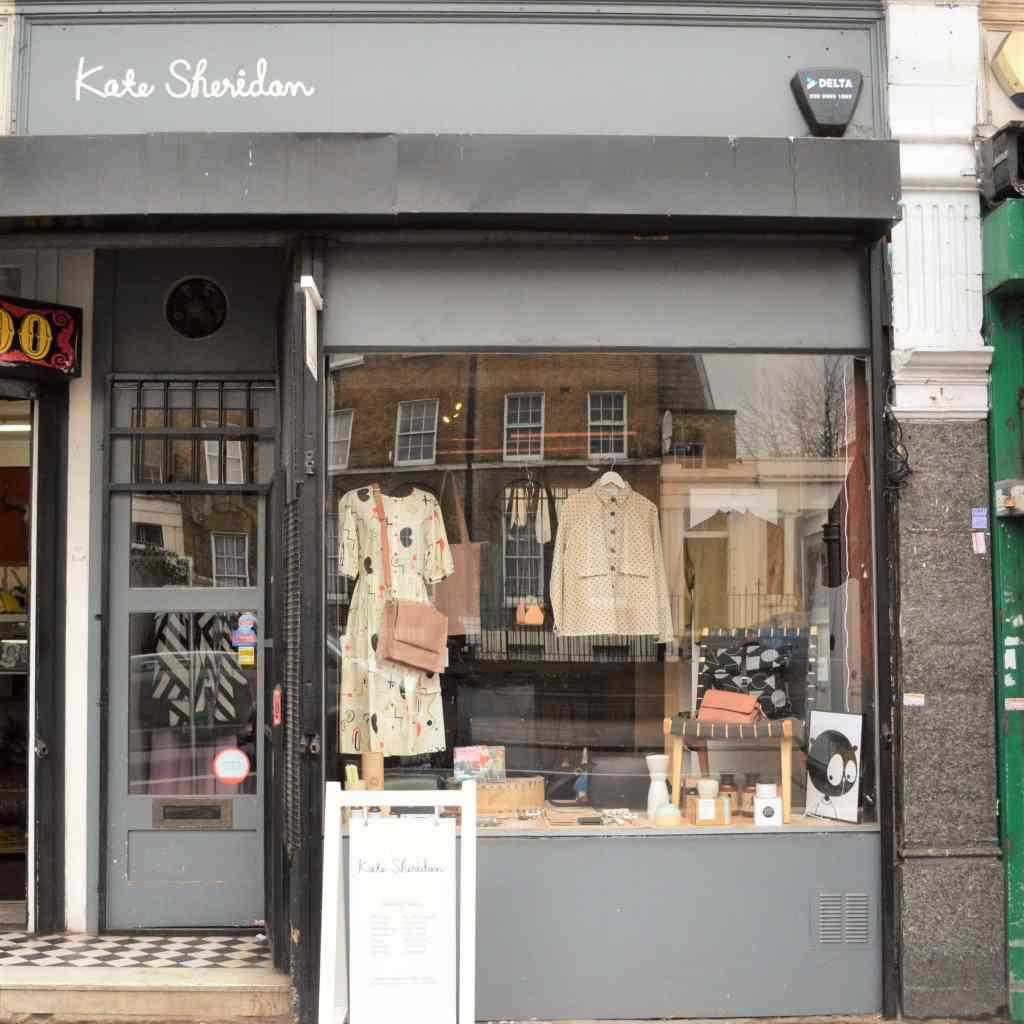 Kate Sheridan London boutiques