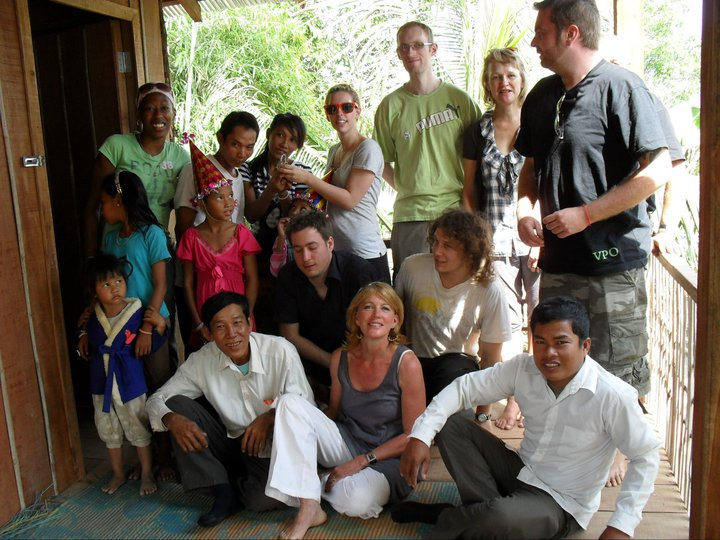 Cambodia volunteering 2010 Onwards and up