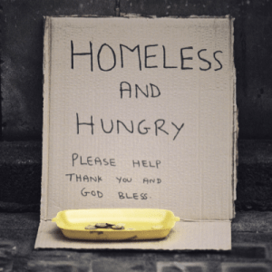 Eradicate Homelessness crisis a christmas | Onwards and Up