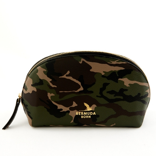Camouflage Clutch Bag, Bermuda Born, Onwards and Up London