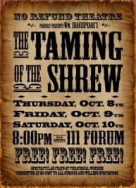 Shrew Taming