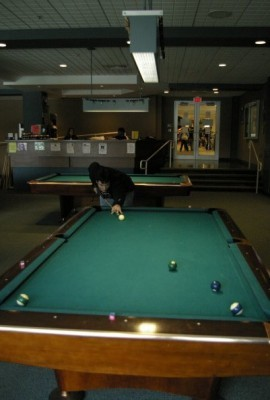 A post published yesterday inaccurately represented the state of a UPUA proposal to repurpose the Corner Pocket as a video game lounge.