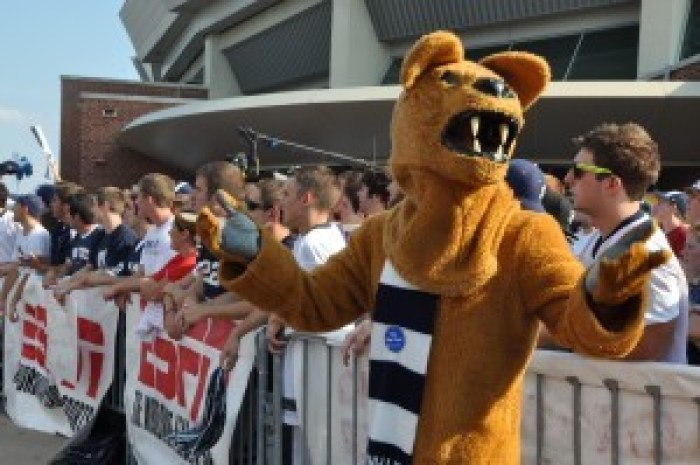 The Nittany Lion at SportsNation