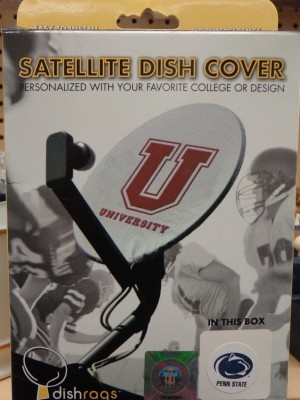 satellite dish cover