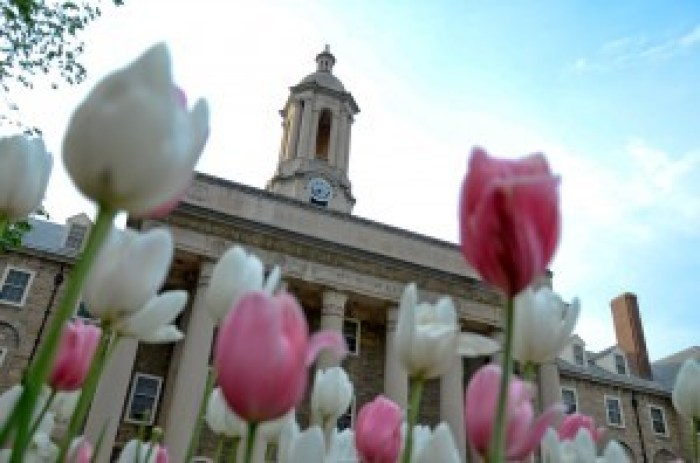 Old Main flowers